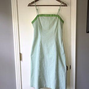 Seersucker Summer Dress, Size 6
